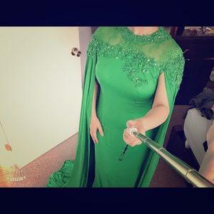 Special Green dress
